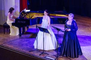 Táňa Vaněčková, Miriam Čížková and Eva Skalová