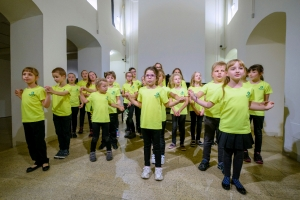 children´s choir Jiřičky