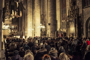 Concert in Cathedral of St. Bartholomew in Pilsen