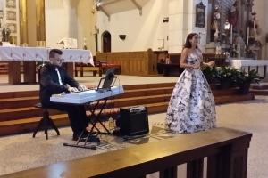 Miriam Čížková and pianist Štěpán Slavík